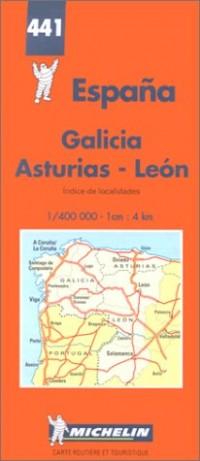 Carte routière : Espagne Nord-Ouest, N° 441