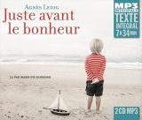 Juste avant le bonheur [CD audio]