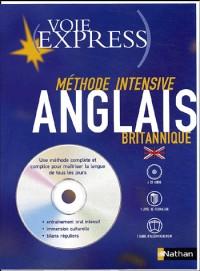 Anglais britannique (1 livre + coffret de 4 CD)