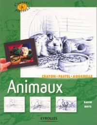 Animaux : Crayons, pastel, aquarelle