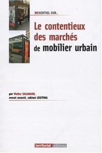 Le Contentieux des Marches de Mobilier Urbain