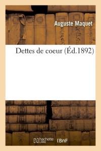 Dettes de Coeur  ed 1892