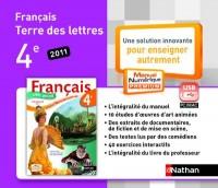 Cle Usb Terre des Lettres 4e Mne Tna