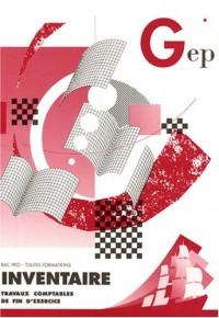 Inventaire pochette n°438, Bac Pro toutes formations : Travaux comptables de fin d'exercice