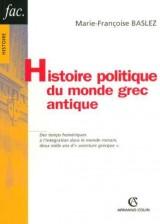 Histoire politique du monde grec antique