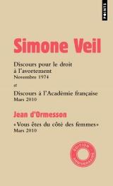 Discours à l'Assemblée nationale et à l'Académie française [Poche]