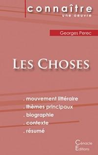 Fiche de lecture Les Choses de Georges Perec (Analyse littéraire de référence et résumé complet)