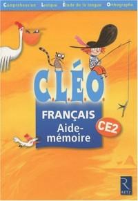 Cleo CE2 Aide-Mémoire X 6