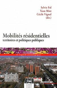 Mobilites Residentielles Territoires et Politiques Publiques