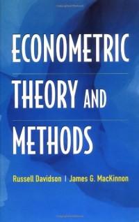 Econometric Theory and Methods