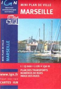 Marseille Mini Plan: IGNMINI.72403