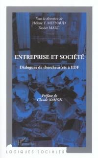 Entreprise et société. Dialogues de chercheur(e)s à EDF