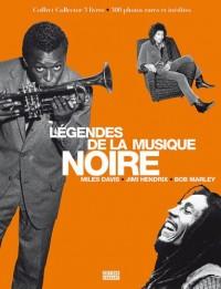 Coffret Légendes de la musique noire en 3 volumes : The Miles David book ; Hendrix l'enfant vaudou ; Bob Marley une vie rebelle