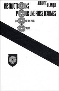 Instructions pour une prise d'armes