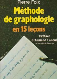Méthode de graphologie en 15 leçons
