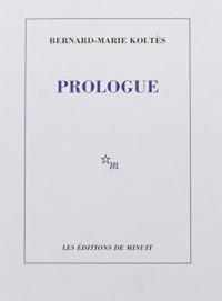 Prologue et Autres Textes Ned