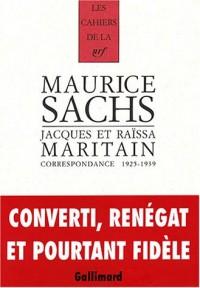 Correspondance, 1925-1939
