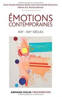 Émotions contemporaines - XIXe-XXIe siècles