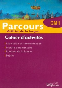 Parcours Cahier CM1 Maroc Eleve