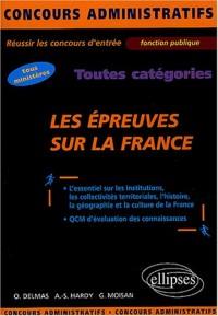 Les épreuves sur la France : Toutes catégories