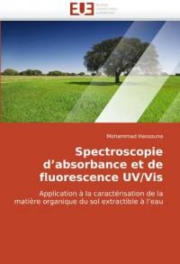 Spectroscopie d'absorbance et de fluorescence UV/Vis: Application à la caractérisation de la matière organique du sol extractible à l'eau