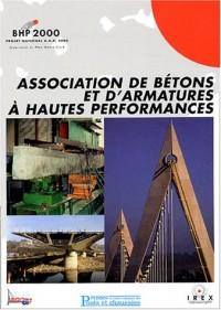 Associations de bétons et d'armatures à hautes performances