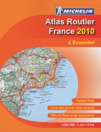 Atlas France format a4 broche 2010