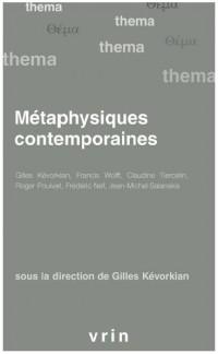 Metaphysiques contemporaines