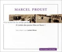 A la recherche du temps perdu, tome 1 : A l'ombre des jeunes filles en fleurs (1 livret + coffret de 5 CD)