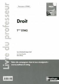 Droit Term Stmg  (Parcours Stmg)  Professeur  2013