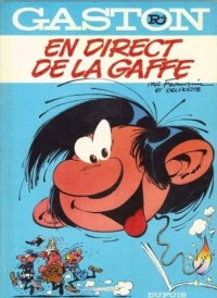 Gaston, Tome 4 : En direct de la gaffe
