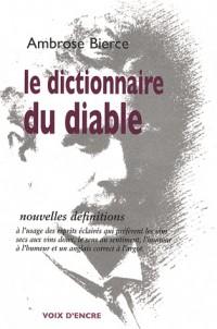 Le dictionnaire du diable : Nouvelles définitions