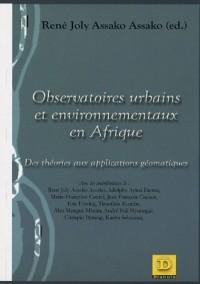 Observatoires urbains et environnementaux en Afrique