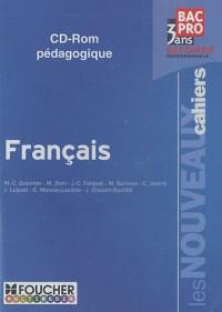 Français 2e professionnelle Bac pro 3 ans : CD-ROM pédagogique