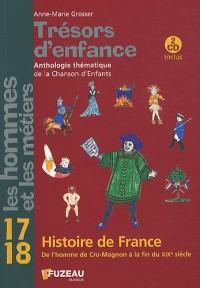 Trésors d'enfance : Anthologie thématique de la Chanson d'Enfants (2CD audio)