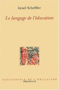 Le langage de l'éducation