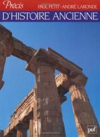 Précis d'histoire ancienne