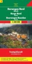 Norvège du Nord : 1/400 000