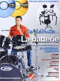 Je Debute la Batterie CD et DVD