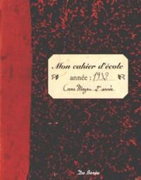 Cahier d'Ecole (Mon)