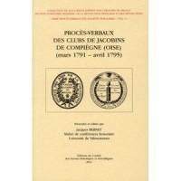 Proces Verbaux des Clubs de Jacobins de Compiegne