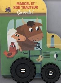 Marcel et son tracteur