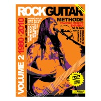 Rock Guitare Methode Rebillard Vol.2 1980/2010 CD +DVD