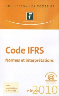 Code IFRS : Normes et interprétations