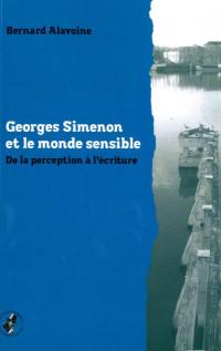 Georges Simenon et le monde sensible