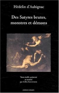 Des satyres, brutes, monstres et démons : 1627