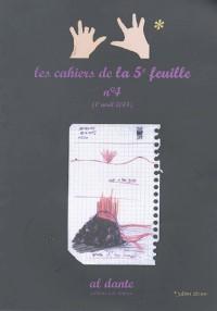 Les cahiers de la cinquième feuille n°4 : 1er avril 2004