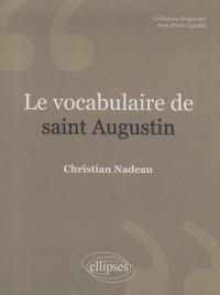 Le vocabulaire de Saint-Augustin