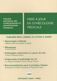 Mises à jour en gynécologie médicale