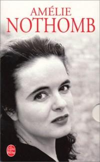 Coffret Amélie Nothomb : Cosmétique - Catilinaires - Stupeurs et tremblements